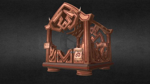 House Cage 3D Model