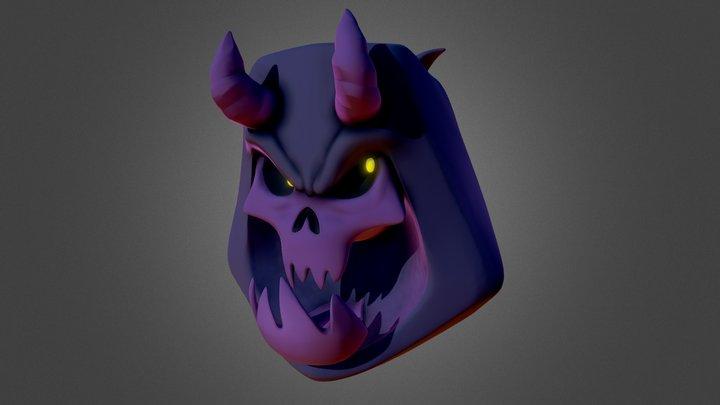 Sculpt Commission | Skull Character Bust 3D Model