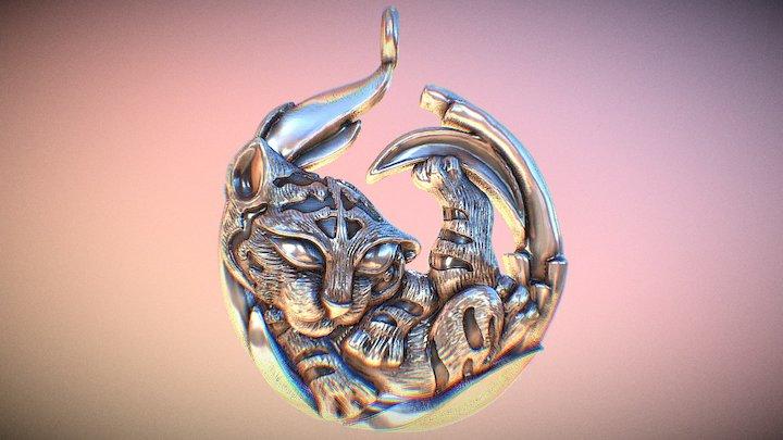 Little Tiger 3D Model