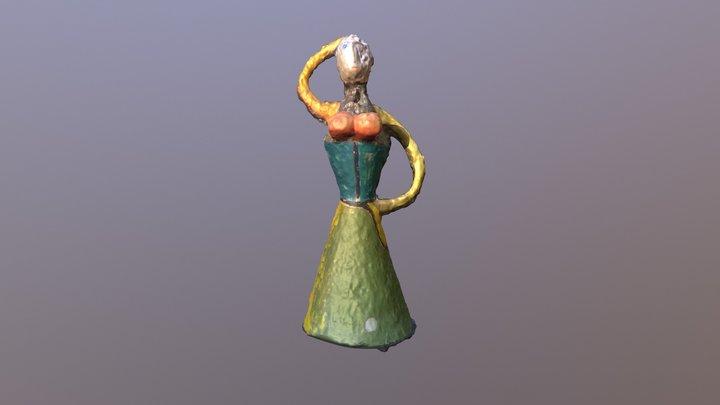 Bailarina - José Manuel Ruiz Castaño 3D Model