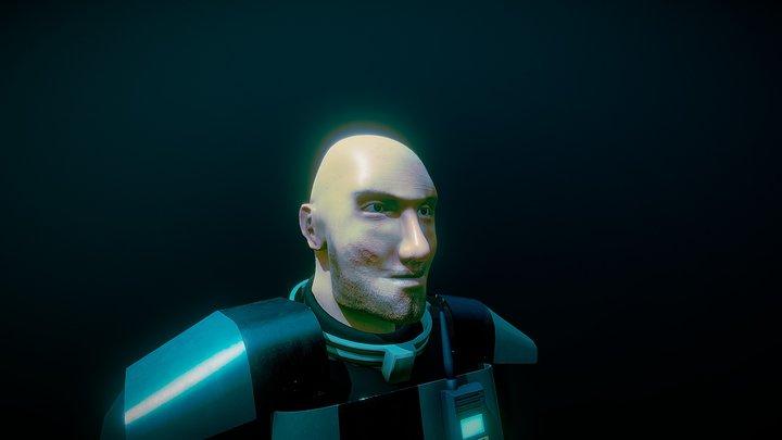Officer 3D Model