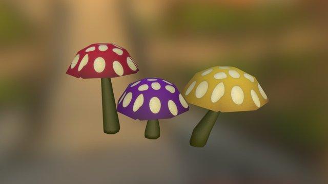 Cogumelo01 3D Model