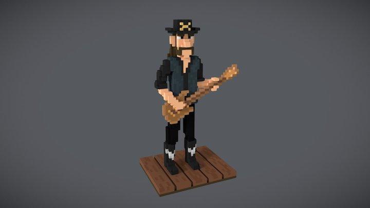 Voxel Lemmy 3D Model