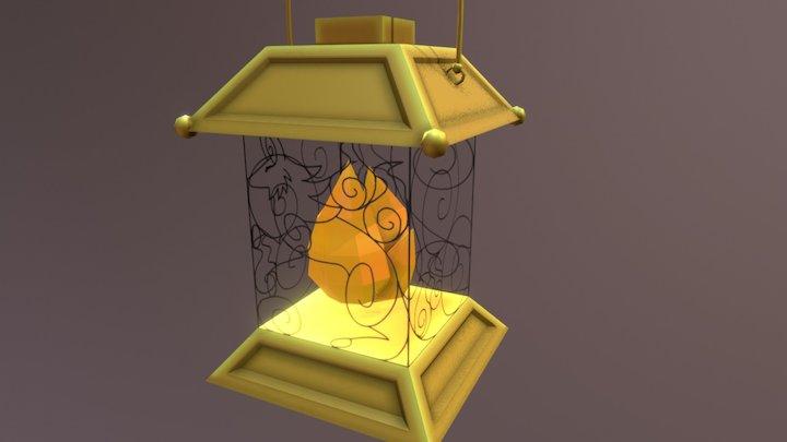 October's Lantern 3D Model