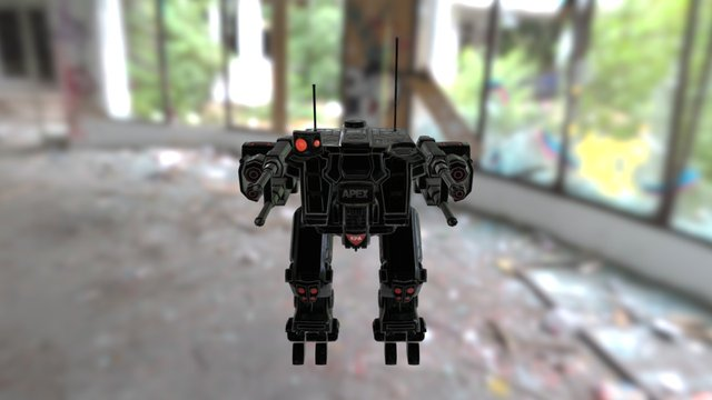 Homefront : The Revolution - Mecha 3D Model