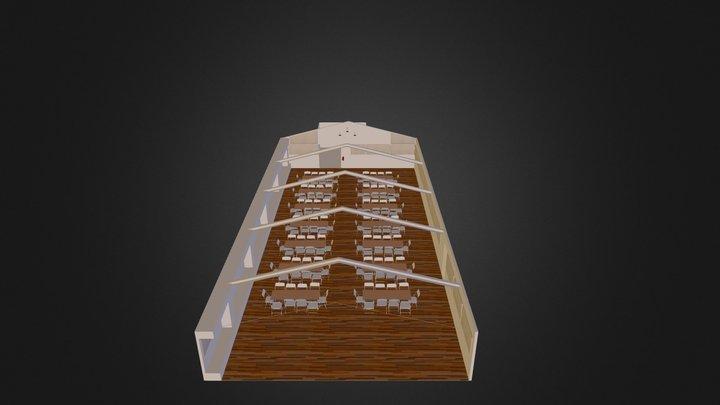 Parish Hall 3D Model