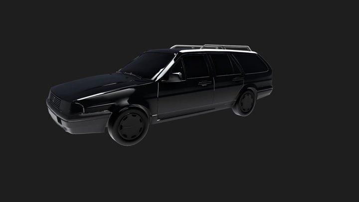 Volkswagen Quantum 3D Model