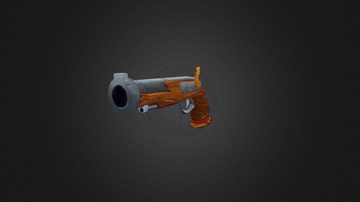 Pirate Pistol 3D Model