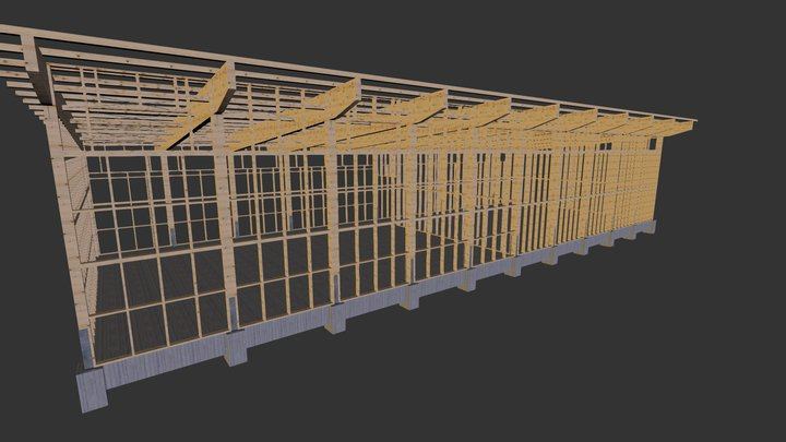 halle3d_3 3D Model