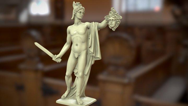 Perseus with Medusa - 3D PRINT READY HQ 3D Model