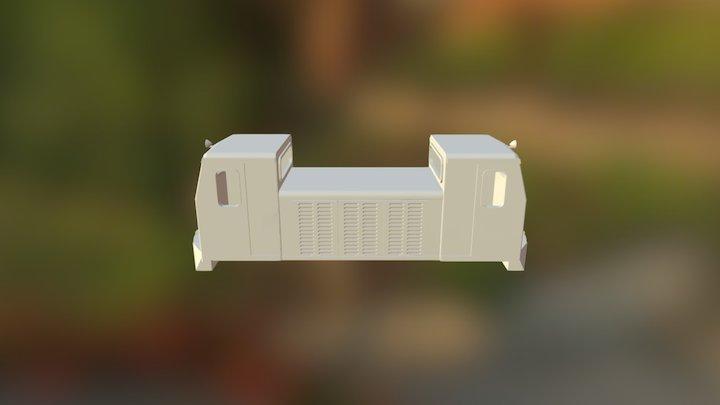 Sakai Works Bo-Bo Diesel, Naidaijin Forestry Ry. 3D Model