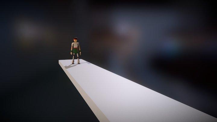 Attack Combo 2 3D Model