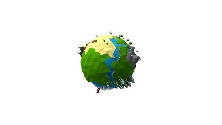 Planeta CIFOG 3D Model