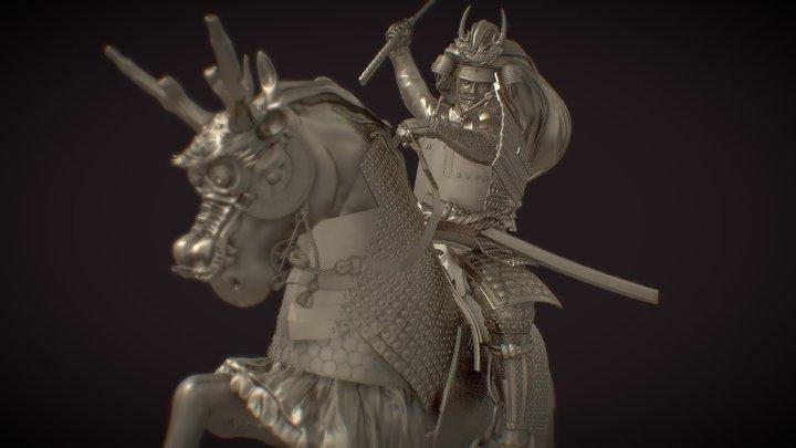Samurai - Takeda Shingen 3D Model