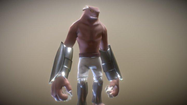 BORGO TOONY 3D Model
