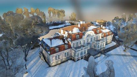 Laupa Manor 3D Model