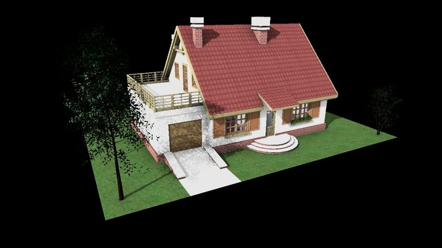 Bażant II 3D Model