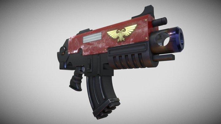 Warhammer 40000 Bolt Gun 3D Model