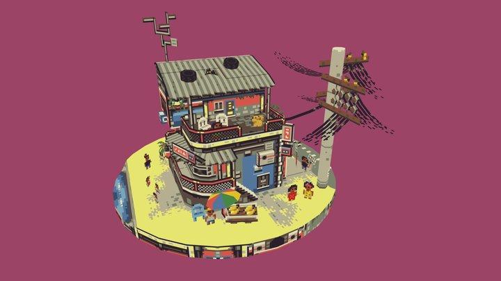 Metro Manila's Lost Summer 3D Model