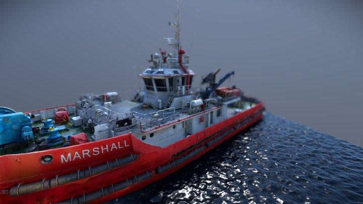 Marshall 3D Model