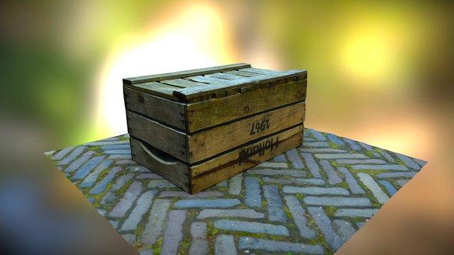 Wooden Case 3D Model