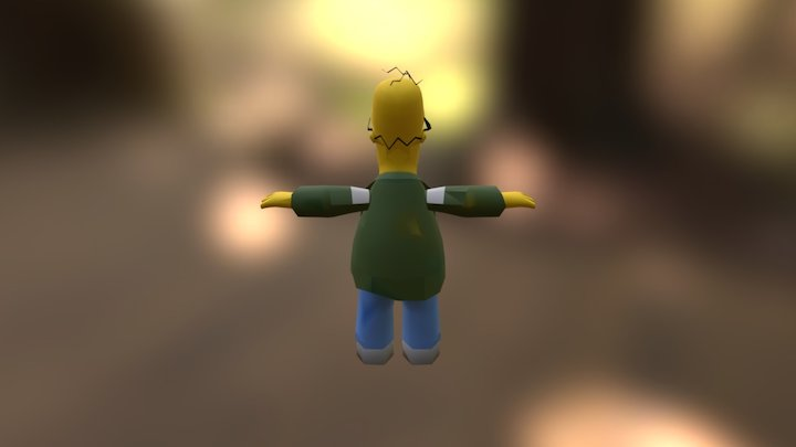 Homero 3D Model