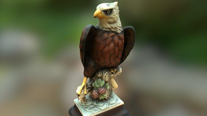 3D Scanned Eagle 3D Model