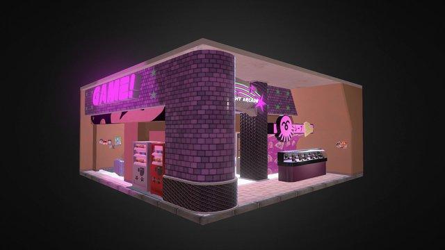 Starlight Arcade 3D Model