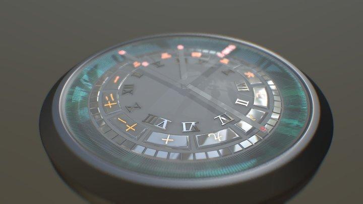 A440 Timepiece 3D Model