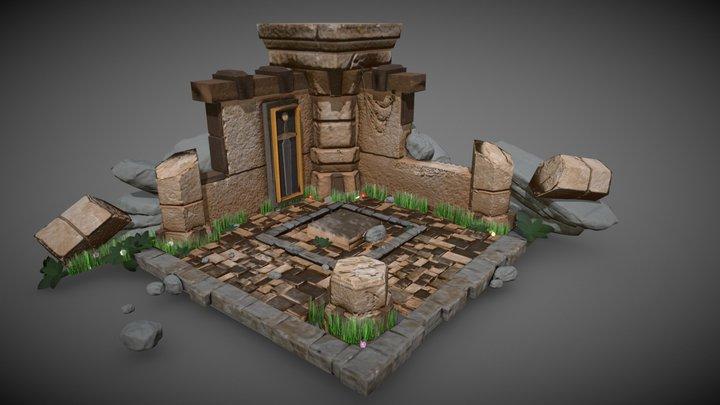 Environment Diorama 01 3D Model