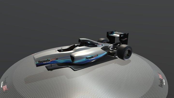 Mercedes Cockpit Simulator 3/4 - Formulaspeed 3D Model