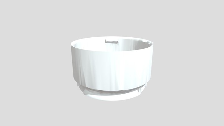 Modular Hydroponic System - Reservoir 3D Model