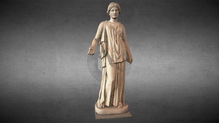 Artemis sculpture for Metateca Project 3D Model