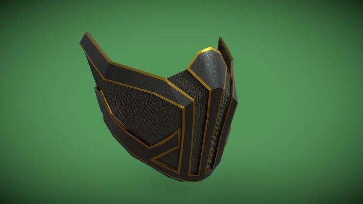 Krypt Mask papercraft 3D Model