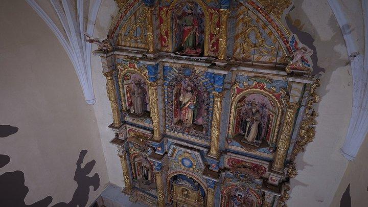 Altar Mayor Iglesia Ayoó El Salvador 3D Model