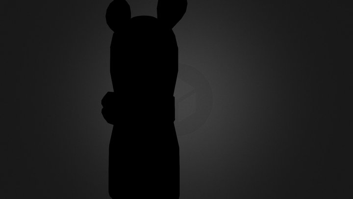 Minnie Mouse Bath Product 3D Model