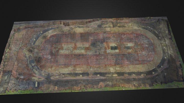 Brick kiln - Austria 3D Model