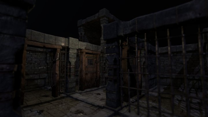 Dungeon Visuals Testing 3D Model