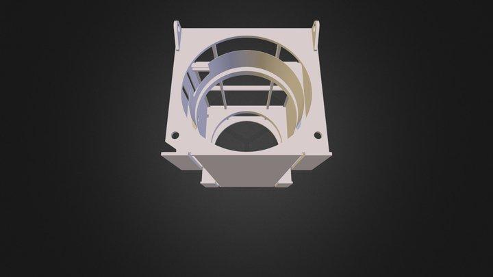 Carcasa Aerogenerador 3D Model
