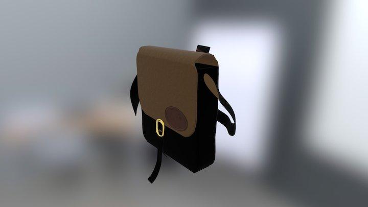 Bag Textured 3D Model