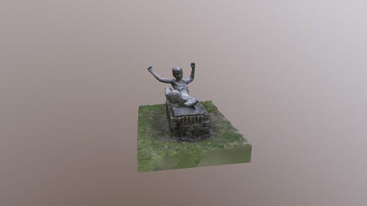 Spelend Kind SBO Toermalijn Emmen 3D Model