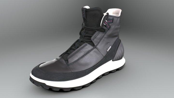 Ecco Exostrike sneaker 3D Model