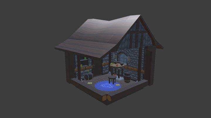 Aaron.R_Week4_Day5_alchemy_House 3D Model