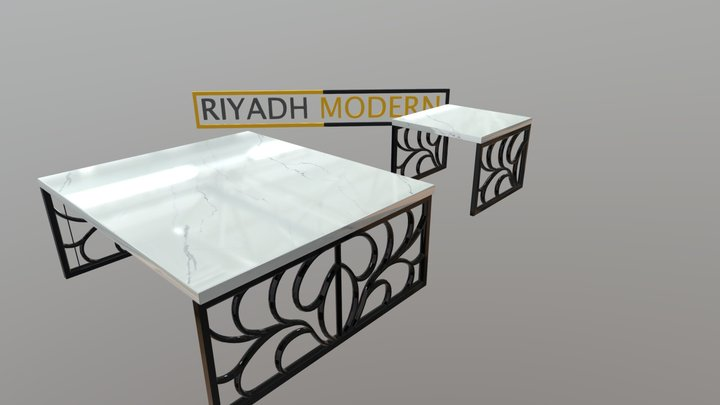 Lounge Table 3D Model