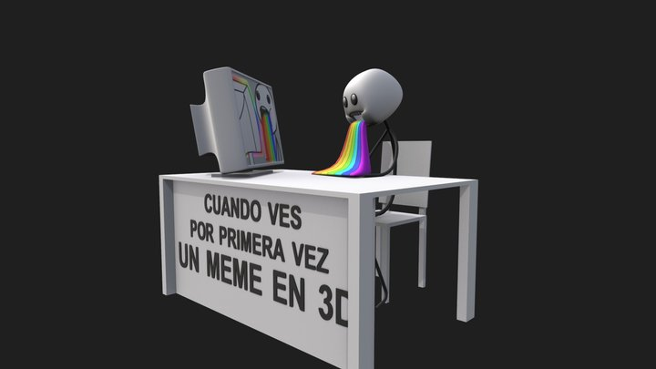 3D Meme 3D Model
