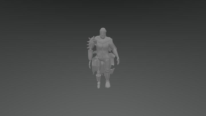 Male (school Project) 3D Model