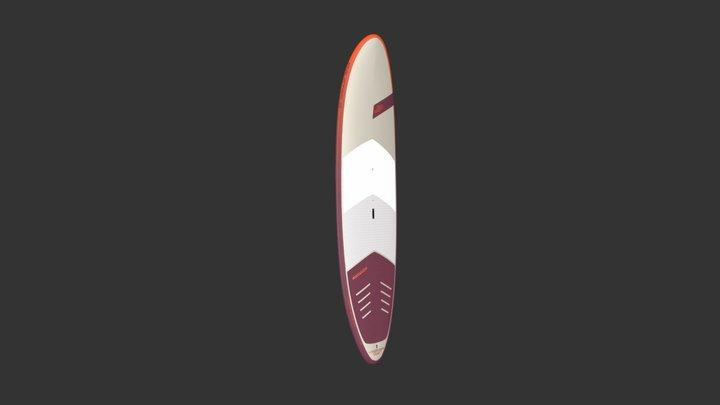 JP 2020 Longboard IPR 3D Model
