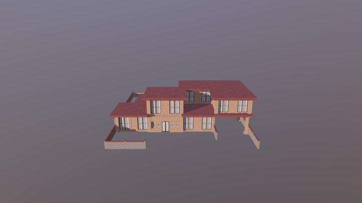 Regular House yard 3D Model