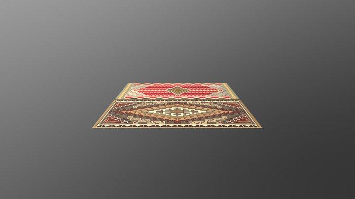 Carpets Low Poly 3D Model