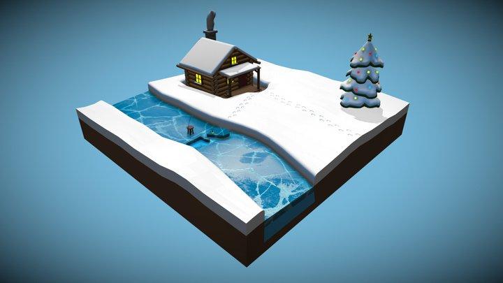 Merry Christmas 3D Model